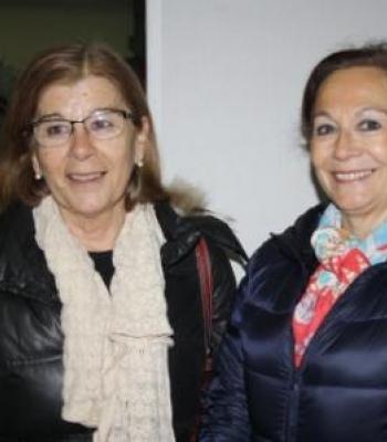 Susana Barbero y Lourdes Álvarez, Voluntarias del Área Educativa en la Fundación Banco de Alimentos de Valladolid
