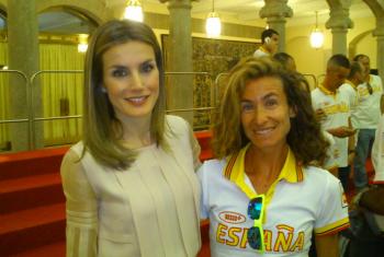 Elena Espeso - Atleta olímpica vallisoletana