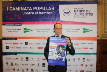 """El Banco de Alimentos de Valladolid presenta su I Caminata Popular """"Contra el hambre"""""""