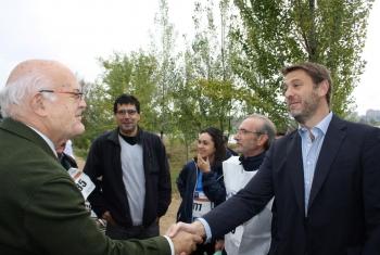 """Más de 3.000 personas se dan cita en la I Caminata Popular """"Contra el Hambre"""""""