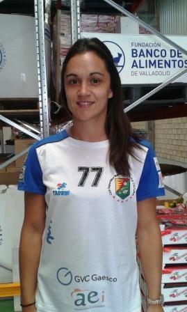"""Amaia González de Garibay """"AMY"""", Jugadora de Balonmano en el BM Aula Cultural de Valladolid"""