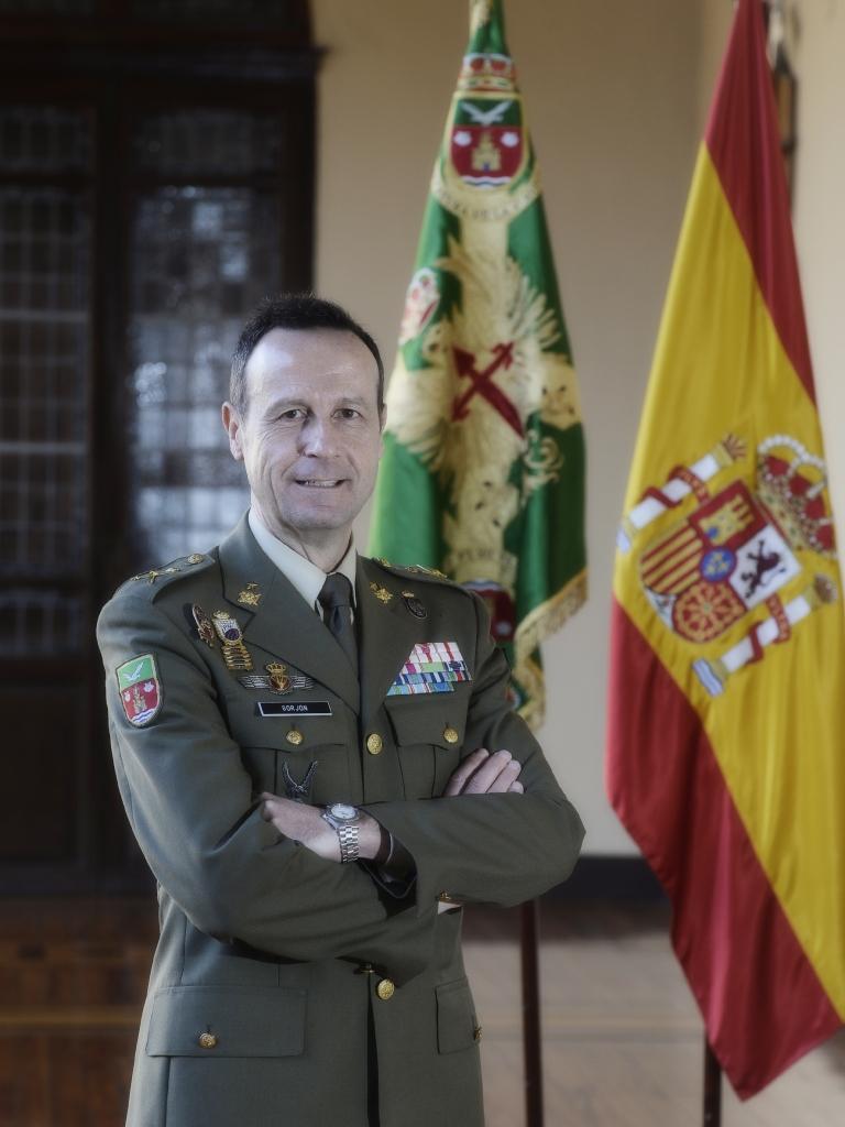 Manuel Gorjón Recio, General Jefe de la IV Subinspección general del Ejército